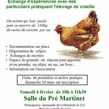 Comment élever des poules? – Permanence Collembole