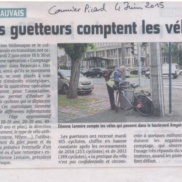 "Opération ""Comptage de vélos"" de Vellovaque"