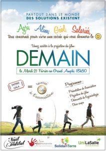 Projection film Demain @ Grand Amphi Campus LaSalle Beauvais   Beauvais   Picardie   France