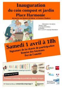 disco soupe et inauguration du site de compostage au quartier St Jean @ Place Harmonie  | Beauvais | Hauts-de-France | France