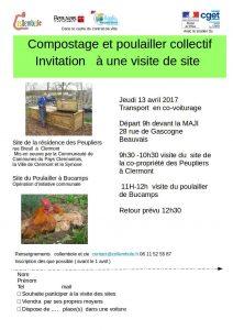 Compostage et poulailler collectif @ Départ de la Maji  | Beauvais | Hauts-de-France | France