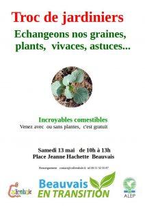 troc de jardinier @ place jeanne hachette | Beauvais | Hauts-de-France | France