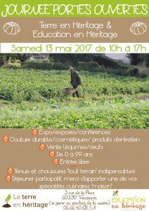 Journée portes ouvertes Education en héritage  ~ Terre en héritage @ Terre en héritage | Troussures | Hauts-de-France | France