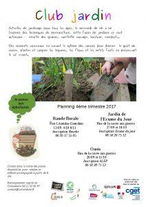 club jardin Ecume du Jour @ Jardin de l'Ecume du Jour  | Beauvais | Hauts-de-France | France