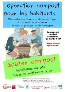 Goûter compost à St Lucien @ gymnase raoul Aubaud   Beauvais   Hauts-de-France   France