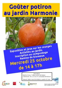 Goûter potiron @ Jardin Harmonie | Beauvais | Hauts-de-France | France