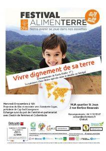 « Vivre dignement de sa terre » (Film dans le cadre du festival Alimenterre) @ MJA Beauvais    Beauvais   Hauts-de-France   France