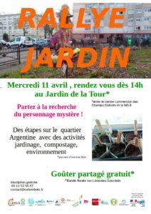 Rallye jardin dans le quartier Argentine @ Jardin de la Tour