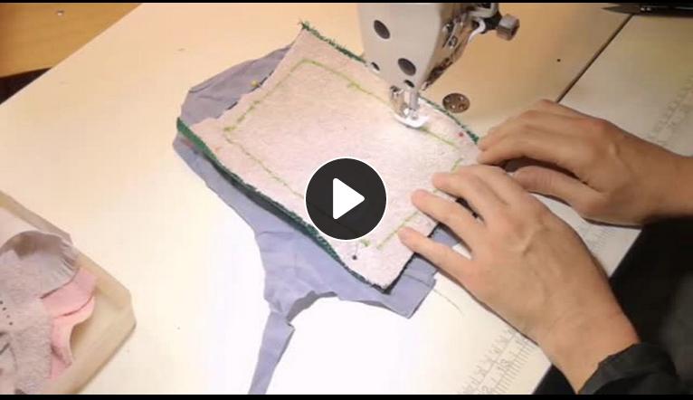 fabrication d'une éponge en recyclé